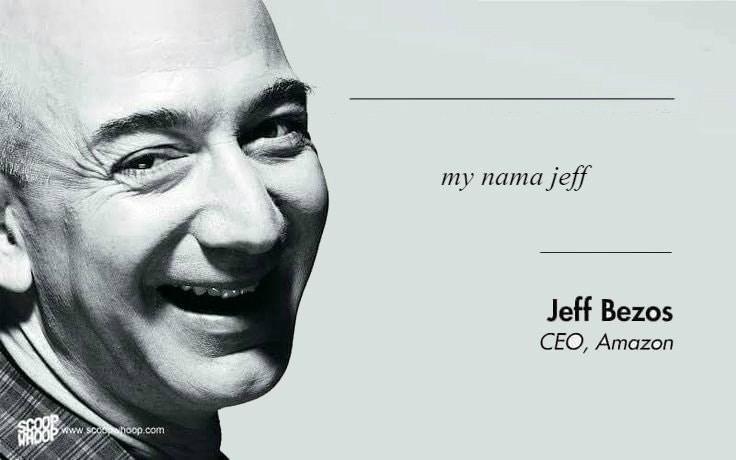 Face - my nama jeff Jeff Bezos CEO, Amazon docds WHOOP www.sccphoop.com