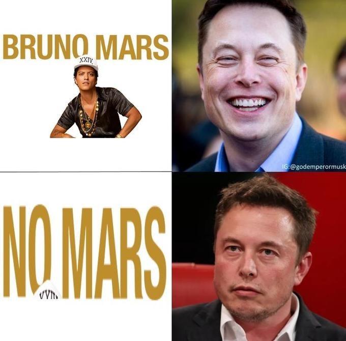 Facial expression - BRUNQ MARS XXIV IG:@godemperormusk NO.MARS