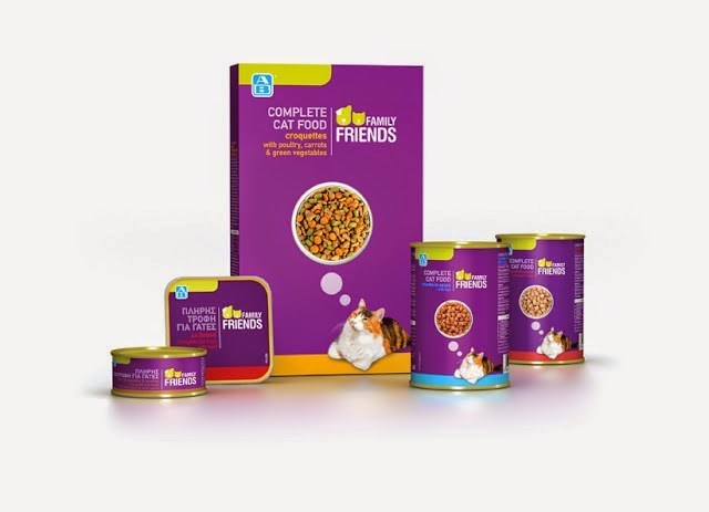 Product - COMPLETE FAMILY CAT FOOD FRIENDS croquettes with poultry, carrets & green vegetables OMPLETE RfosRIENDS DOMPLETE CAT FOOD UraM FRIENDS ПАНРНТ TPOOH FAMAY nA TATEE FRIENDS ERIENDS NTINIIT