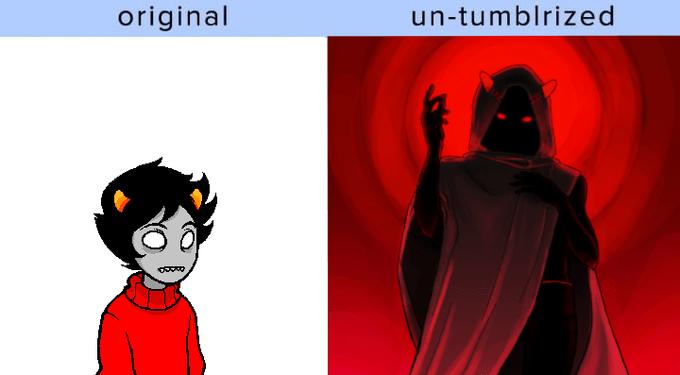 Cartoon - un-tumblrized original