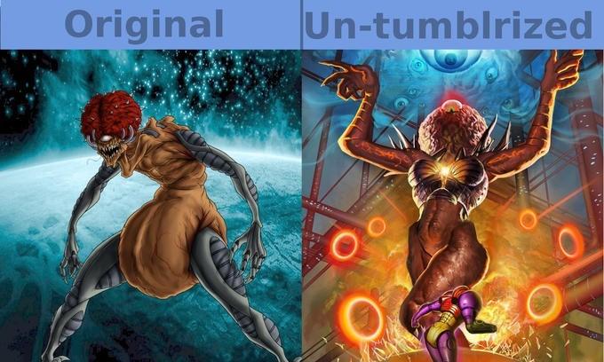 Action-adventure game - Un-tumblrized Original