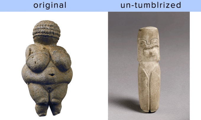 Stone carving - un-tumblrized original