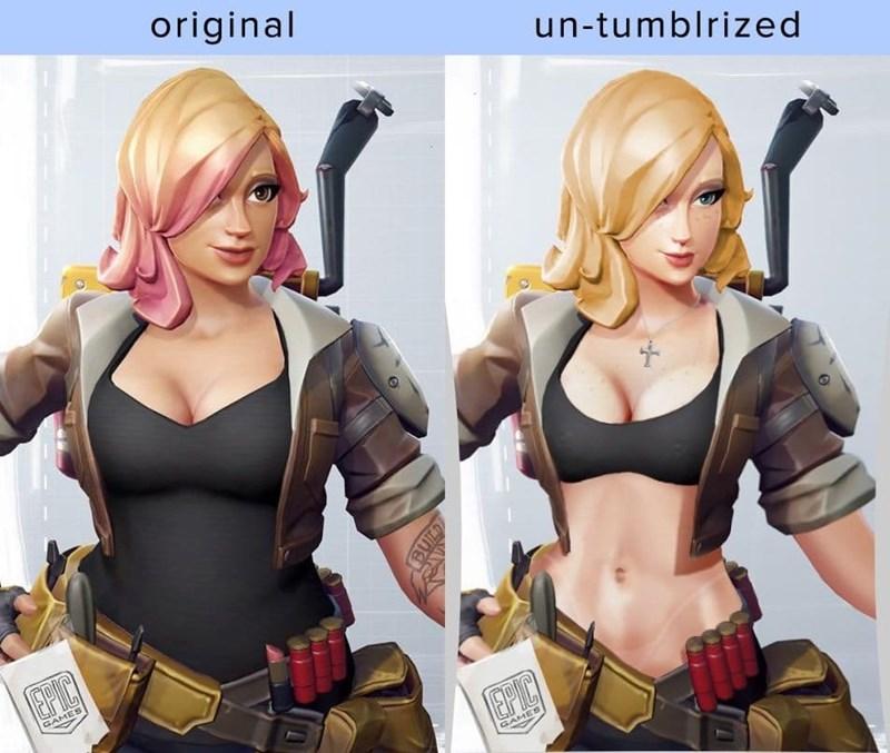 Fictional character - original un-tumblrized EPIC GAMES EPIC GAMES