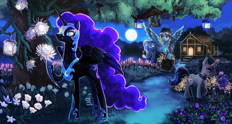 nightmare moon OC the keyblade pony - 9122556672