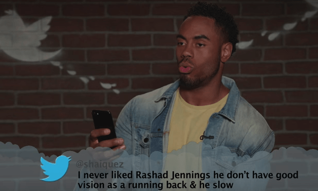 Photo caption - @shaiquez I never liked Rashad Jennings he don't have good vision as a running back &he slow