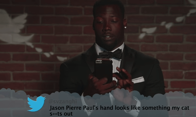 Photograph - @svzanghi Jason Pierre Paul's hand looks like something my cat S*ts out