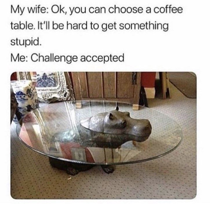 you can choose a coffee table