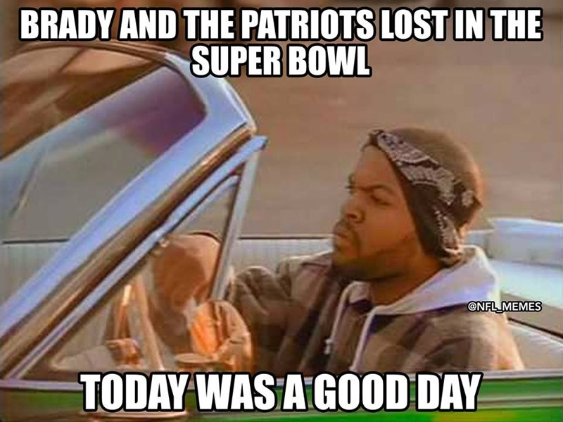 Mode of transport - BRADY AND THE PATRIOTS LOST IN THE SUPER BOWL @NFL MEMES TODAY WAS A GOOD DAY