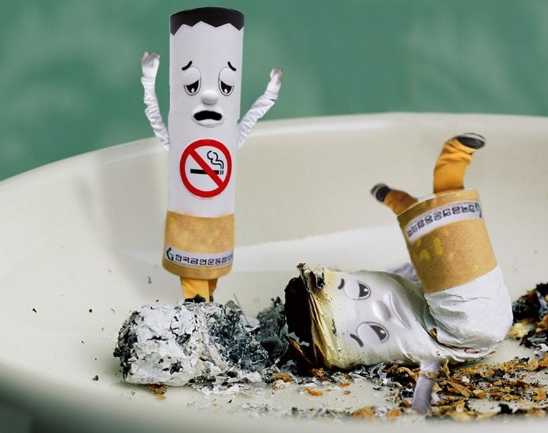 sad cigarettes photoshops
