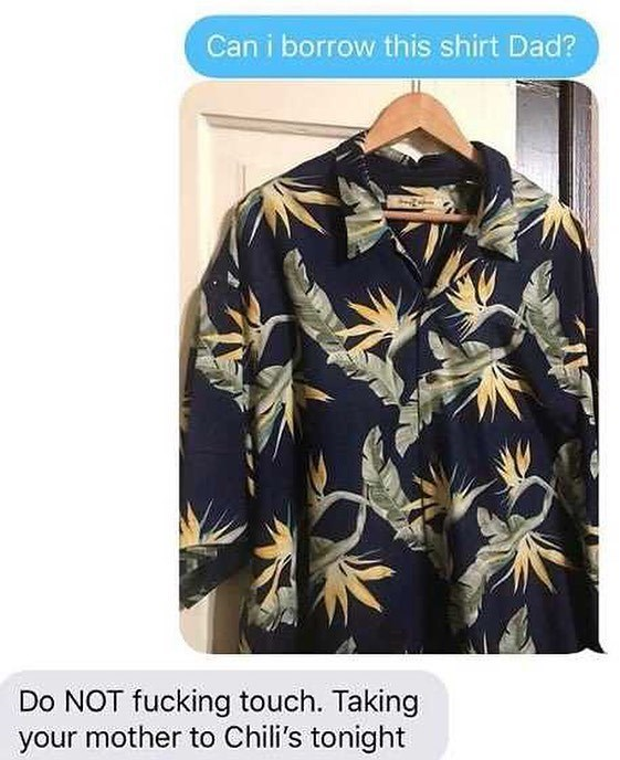 Funny meme about going to chili's with mom, cool shirt.