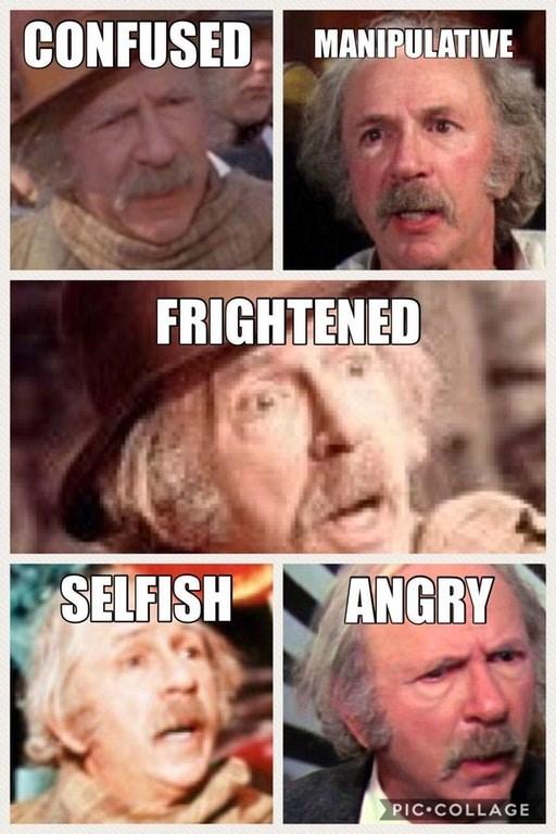 meme about grandpa joe and willy wonka