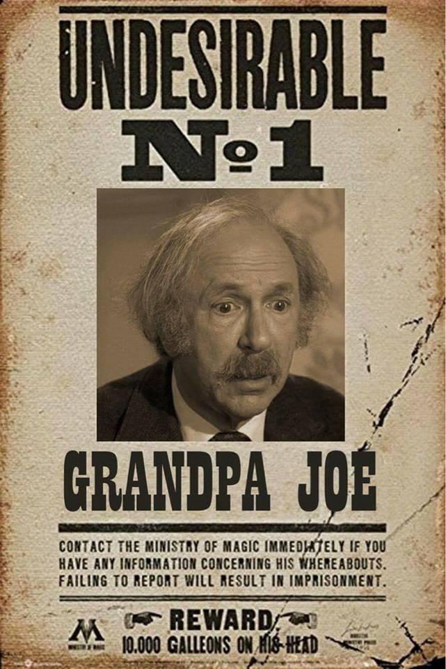 meme about undesirable grandpa joe
