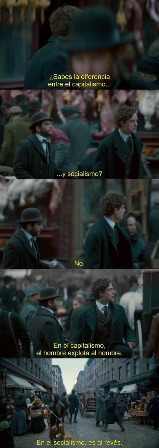 diferencia entre socialismo y capitalismo
