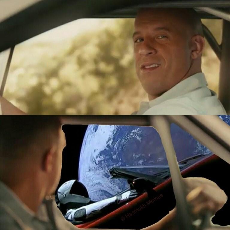 space tesla - Vehicle door - Hasmukh Memes