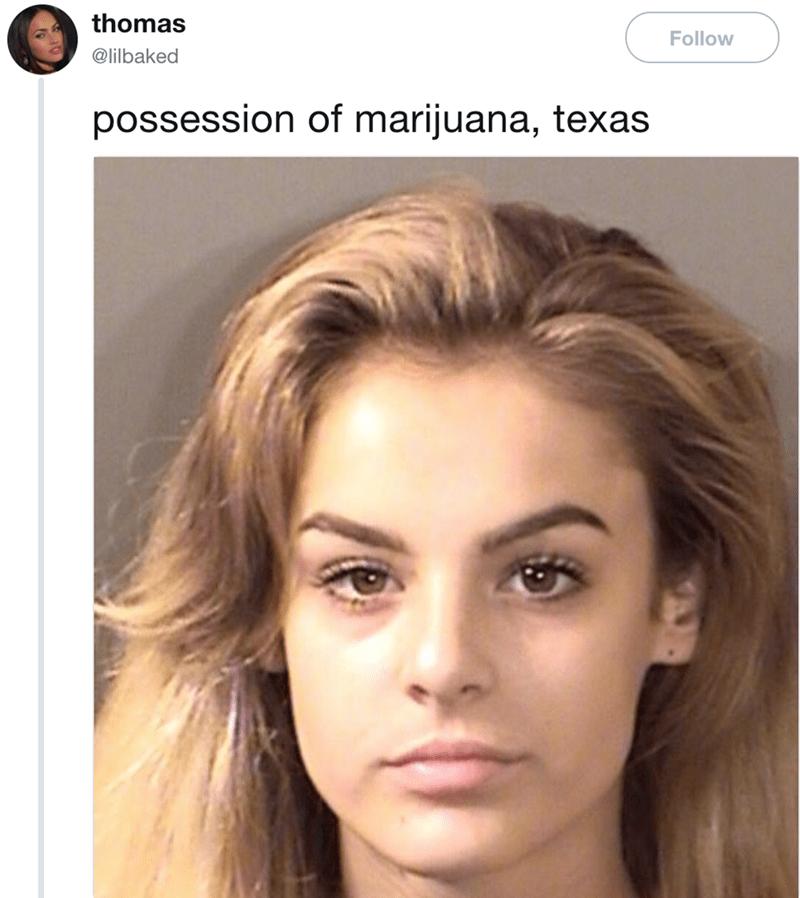 Face - thomas Follow @lilbaked possession of marijuana, texas