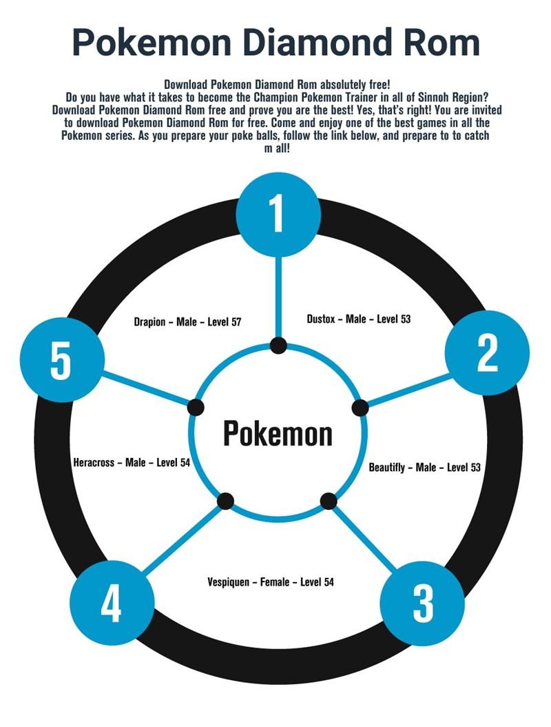 Pokemon Diamond Rom Home