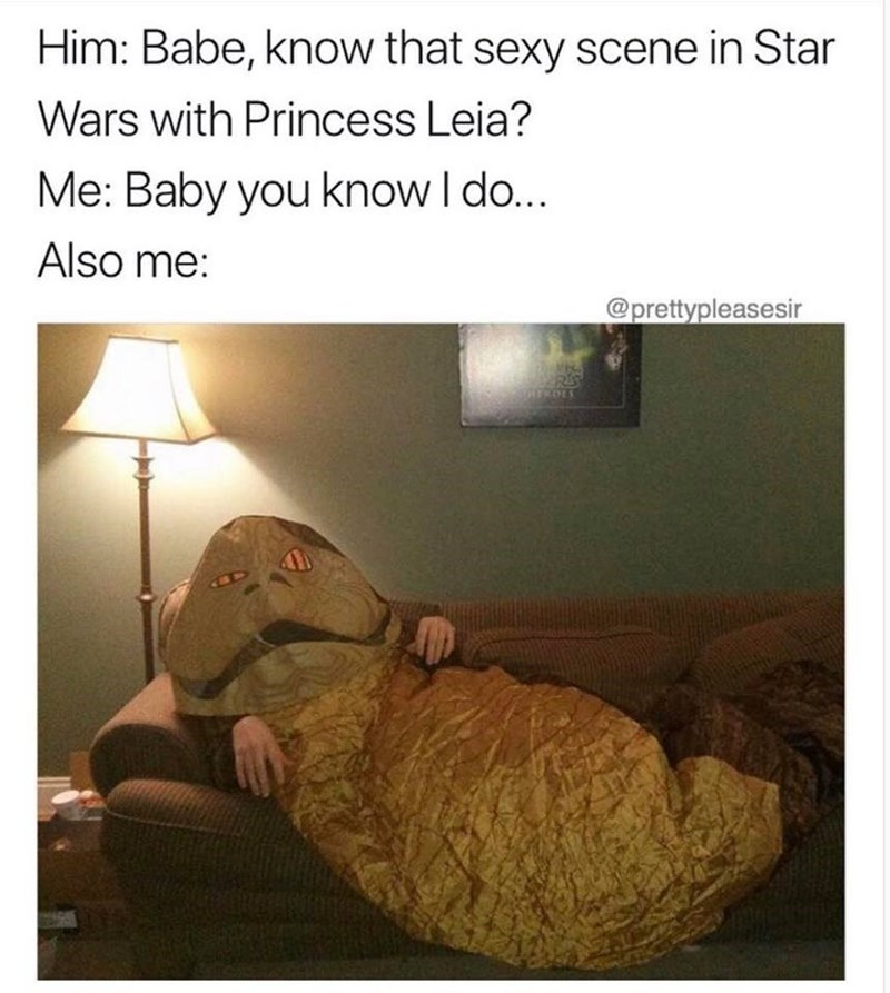 know that sexy scene in star wars with princess