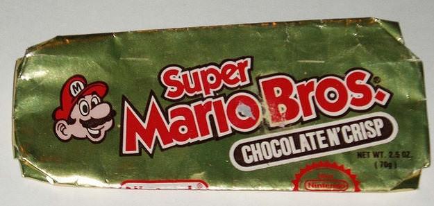 Snack - Super Ms ario Bros CHOCOLATEN CRISP NET WT. 2.5 02 (70g) Ninte