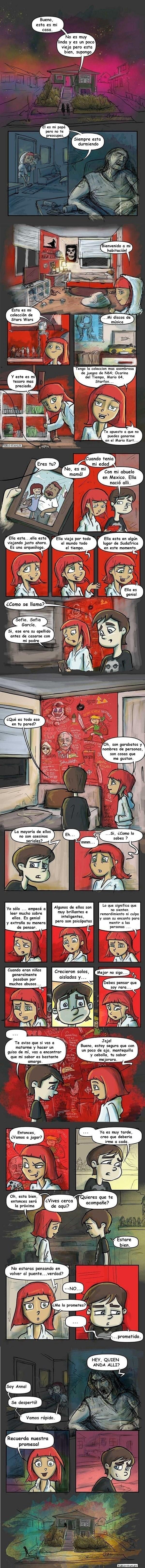 historia triste de dos amigos imaginarios