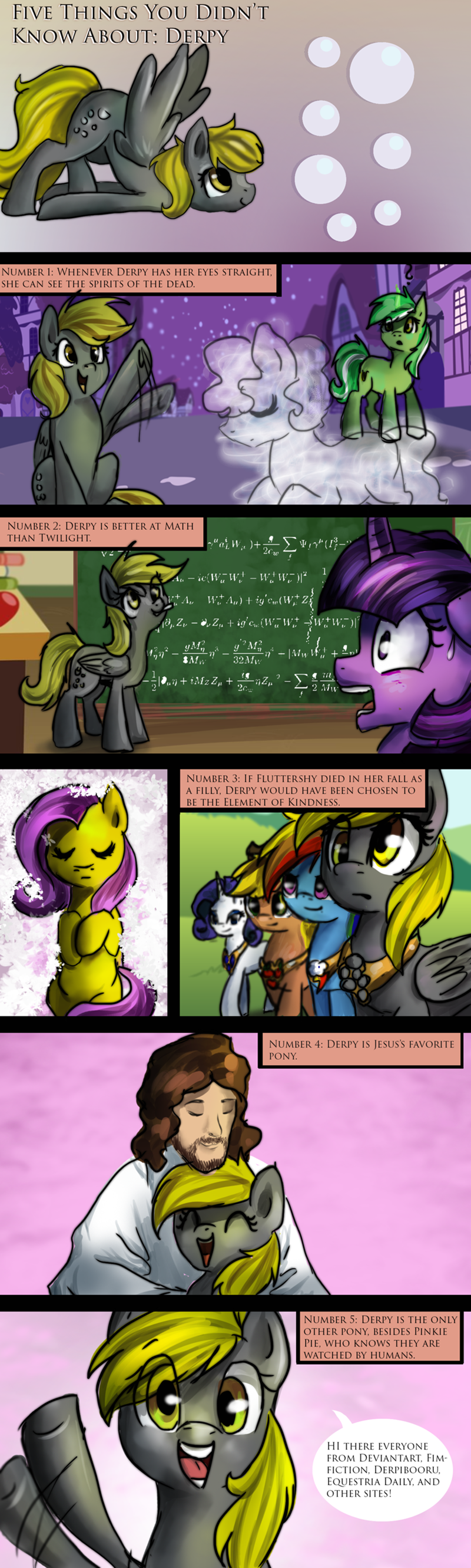 jesus fourth wall derpy hooves twilight sparkle rated r ponystar comic fluttershy - 9125981952