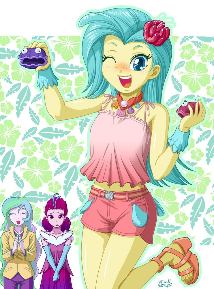 equestria girls princess skystar uotapo queen novo princess celestia - 9125983488