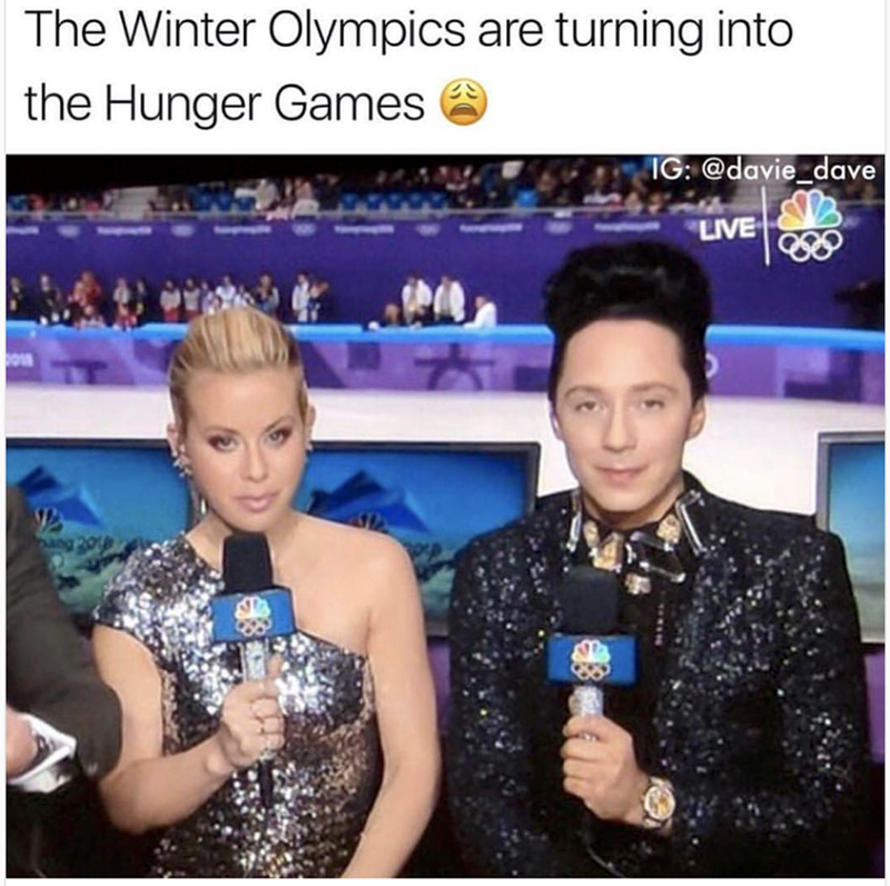 Photography - The Winter Olympics are turning into the Hunger Games IG: @davie_dave LIVE