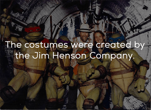 Adventure game - The costumes were created by the Jim Henson Company.