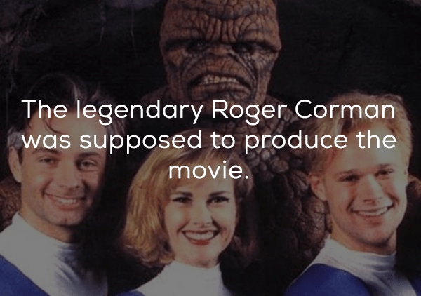 People - The legendary Roger Corman was supposed to produce the movie.