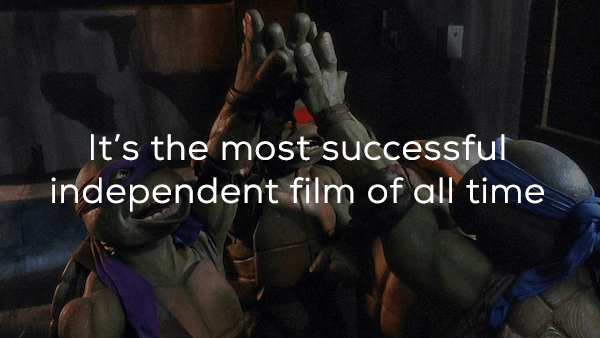 Adventure game - It's the most successful independent film of all time