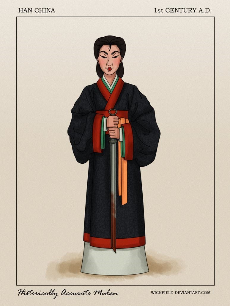 Outerwear - 1st CENTURY A.D HAN CHINA Historically accmrate mulan WICKFIELD.DEVIANTART.COM