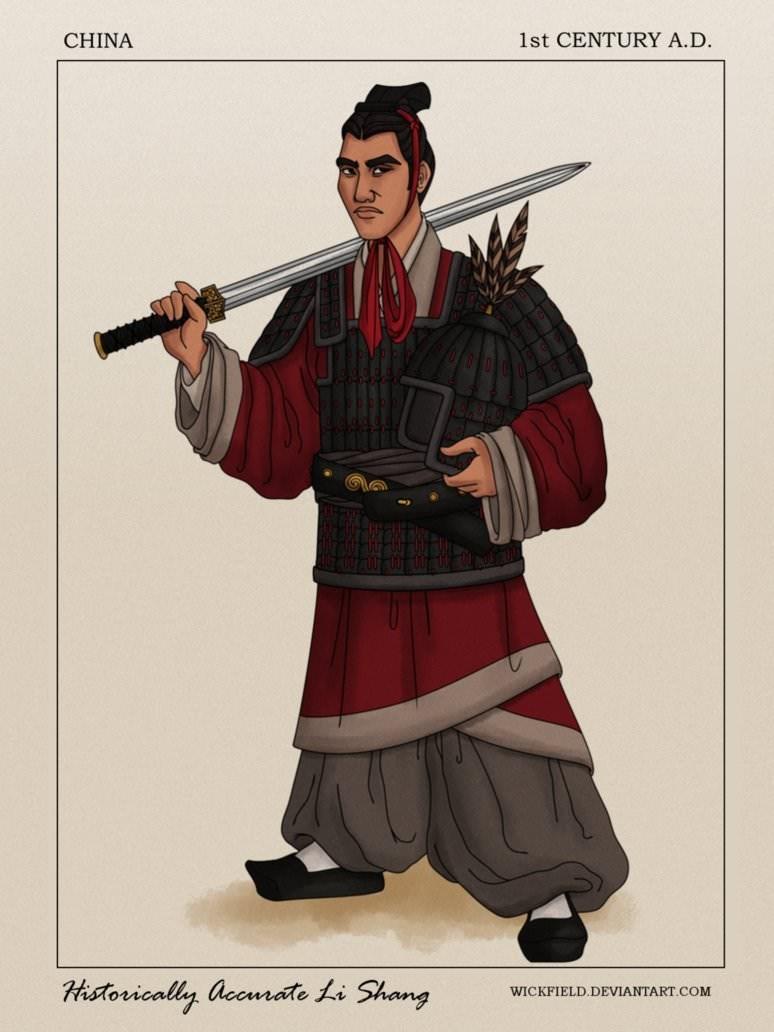 Illustration - CHINA 1st CENTURY A.D. Historically accmrate Li Shang WICKFIELD.DEVIANTART.COM