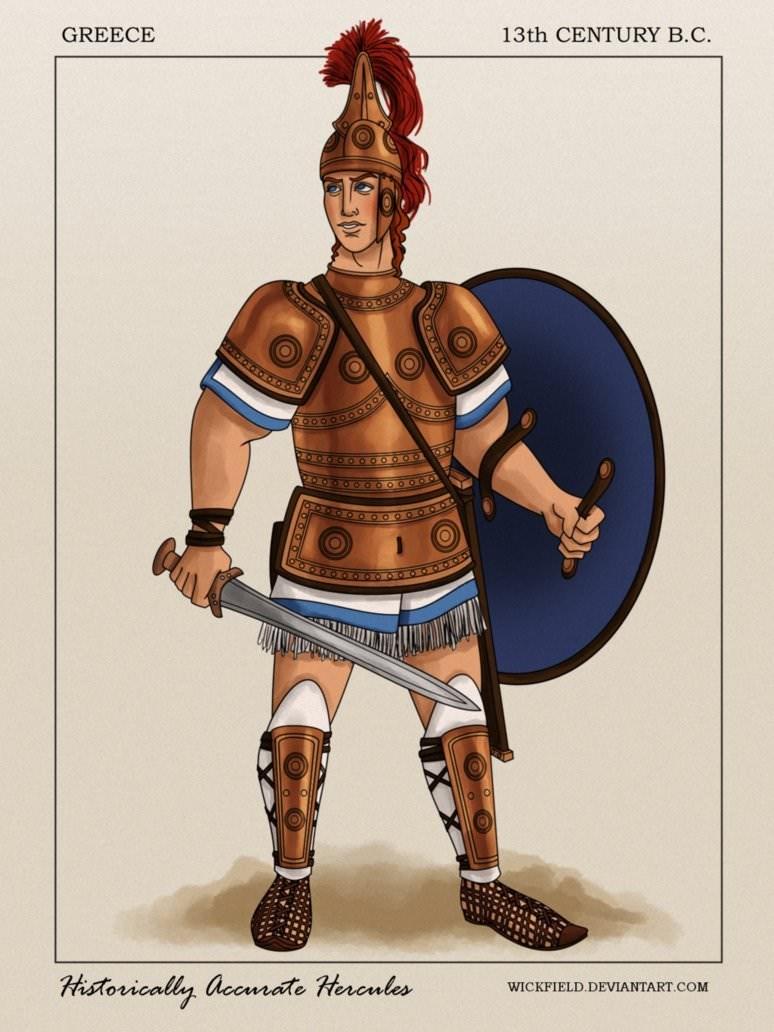 Conquistador - GREECE 13th CENTURY B.C. OO000O09 ANAINA Historically accrate Hercules WICKFIELD.DEVIANTART.COM