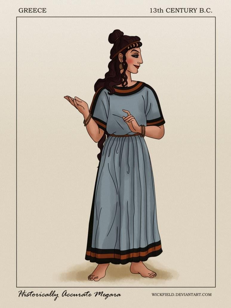 Clothing - GREECE 13th CENTURY B.C. Historically accurate megana WICKFIELD.DEVIANTART.COM