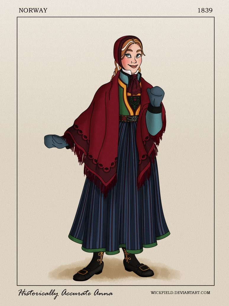 Clothing - NORWAY 1839 Hstorically accmate anna WICKFIELD.DEVIANTART.COM