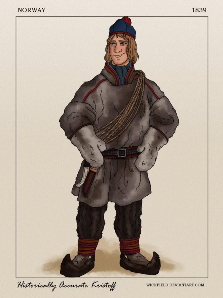 Cartoon - NORWAY 1839 Historically accmrate Kristof WICKFIELD.DEVIANTART,COM