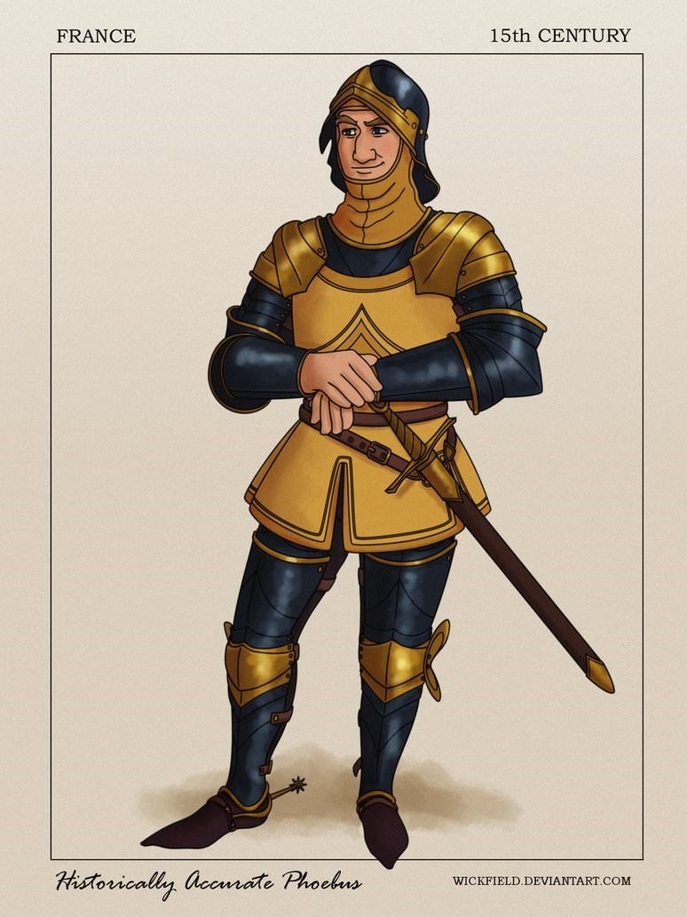 Fictional character - 15th CENTURY FRANCE Historically accmate Phochus WICKFIELD.DEVIANTART.COM