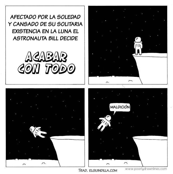 la triste historia del astronauta suicida