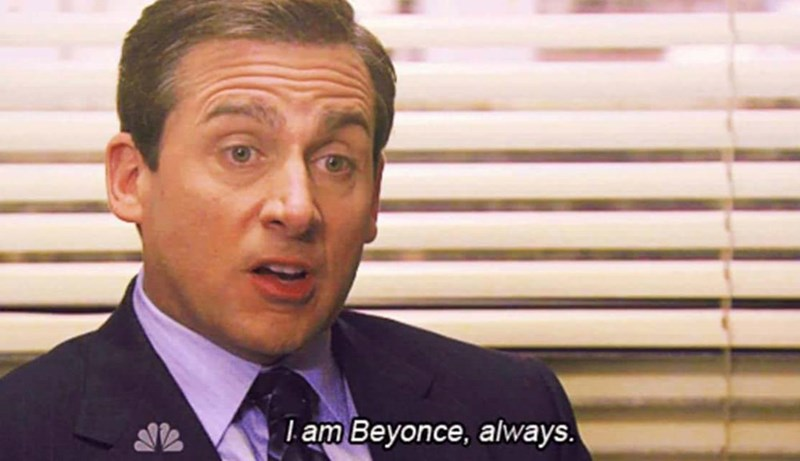 Forehead - L am Beyonce, always.