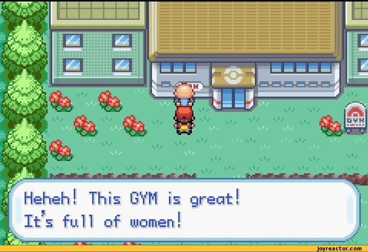 Games - Heheh! This GYM is great! It's full of women! joyreactor.com