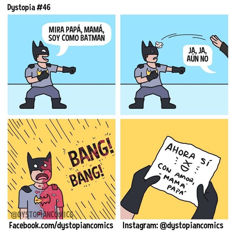 mama papa soy como batman