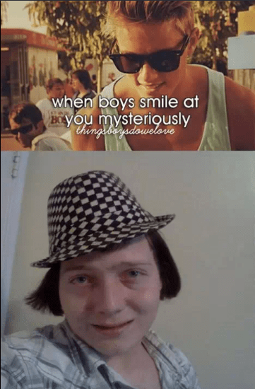 Headgear - when boys smile at Byou mysteriously thingsbensdowelorve