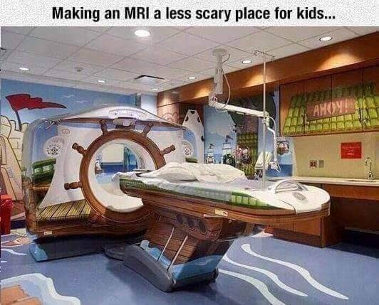 Property - Making an MRI a less scary place for kids... AHOM