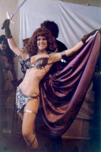 vintage cosplay - Belly dance