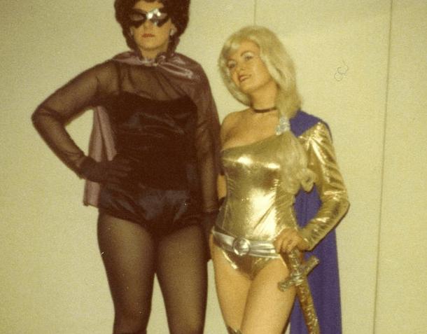 vintage cosplay - Latex clothing