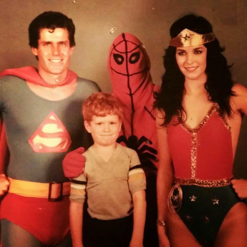 vintage cosplay - Superhero