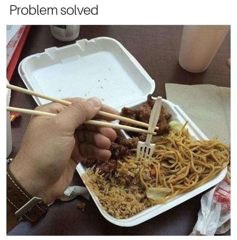 Food - Problem solved