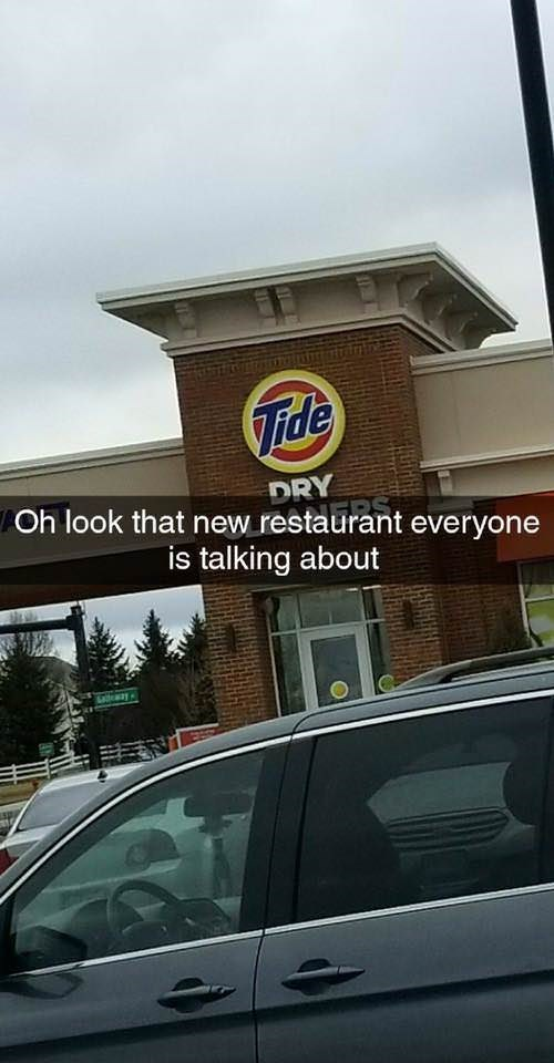 Automotive exterior - Tide DRY Oh look that new restaurant everyone is talking about draay