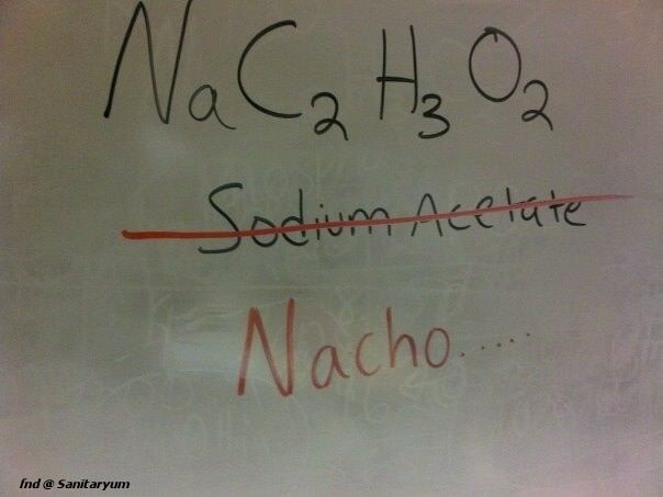 Text - NaCaH Oa 3 Sedium Acelate Nacho fnd@Sanitaryum