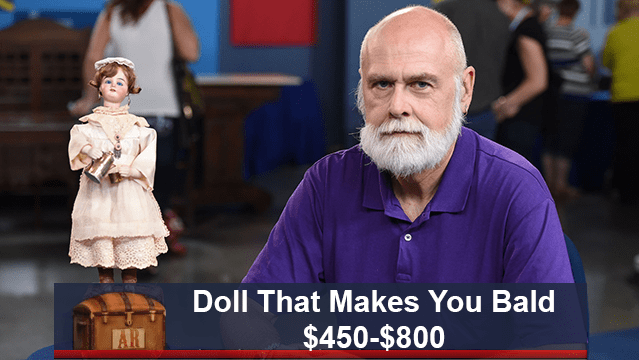 funny caption - Facial hair - Doll That Makes You Bald $450-$800 AR