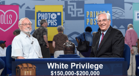 funny caption - News - PRI POS PHOTO C PHS OLLS White Privilege WAR $150,000-$200,000